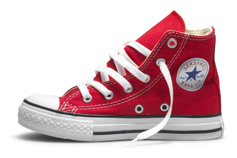 cc69e79d416 Converse Dětské Tenisky Chuck Taylor All Star Hi Red Junior
