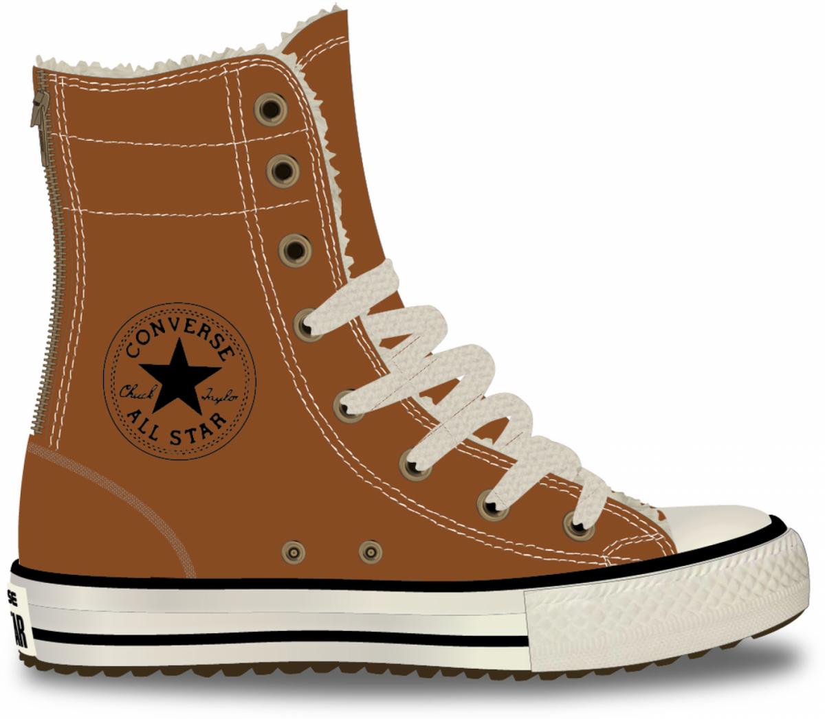 Converse Detské Tenisky Chuck Taylor All Star Hi Rise Boot X-Hi Antique  Sepia Junior c3eac9654e8