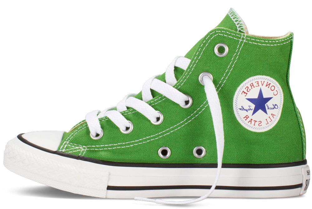 79df9e40f38 Converse Dětské Tenisky Chuck Taylor All Star Hi Green Junior