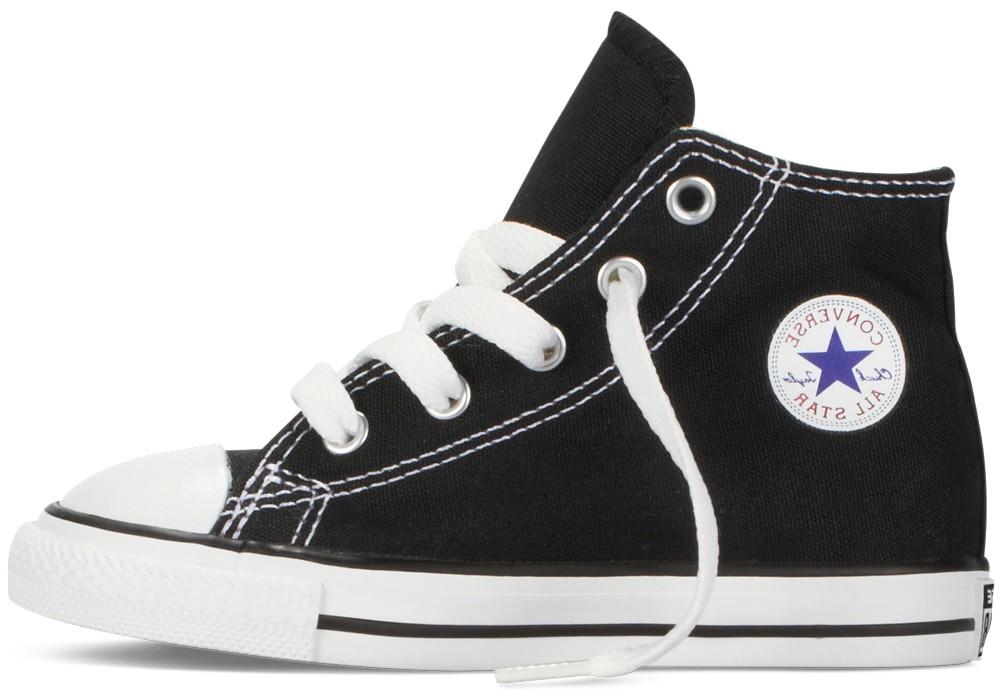 394b2dbc68 Converse Dětské Tenisky Chuck Taylor All Star Hi Black Junior